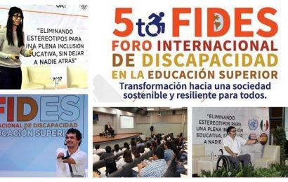 Prepara UAT Foro Internacional de Discapacidad en la Educación Superior
