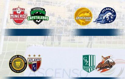 Definidos los Cuartos de Final del Clausura 2018 en Ascenso MX
