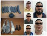 Capturan a Integrantes del Crimen Organizado Responsables de Rapar, Desnudar y Pintar de Azul a Supuestos Compradores de Votos en Nuevo Laredo