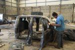 PGJT Destruye 25 Vehículos con Blindaje Artesanal Decomisados