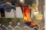 Fuga de Gas Origina Incendio de una Casa en la Colonia Anahuac