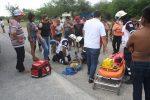 Automóvil Embiste a Menores en Moto en el Ejido E. Zapata