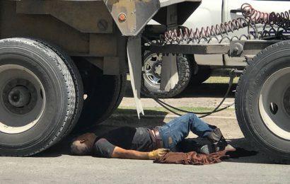 Muere Trailero en Matamoros