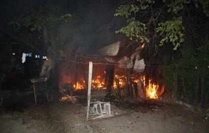 Fuerte Incendio Arrasa con Vivienda y Pertenencias de Humilde Familia