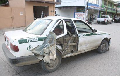 Chocan Carros de Ruta; El Saldo Es de 3 Heridos