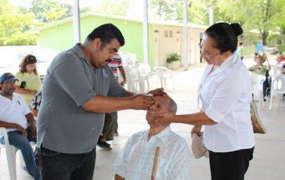 Continúan Gobierno Municipal y Sistema DIF Mante con Campaña Oftalmológica de la Carlota