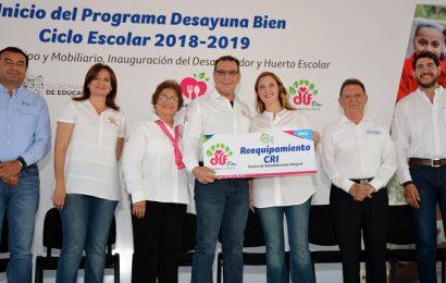 Inician en Mante El Programa «Desayuna Bien» de DIF Tamaulipas