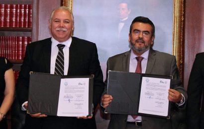 Judicatura y Secretaría General de Gobierno Pactan Acuerdo de Intercambio Documental Vía Electrónica