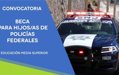 SEP Ofrece Becas Para Hijos de Policías Federales
