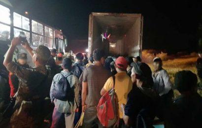 Rescatan y Apoyan a 119 Migrantes en Nuevo León