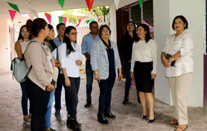 Coral Fentanes de Vázquez y Juanita Lara de Leal Iniciaron Hoy la Entrega-Recepción del DIF Mante