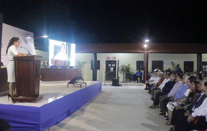 Alcaldesa Cumple con el Pueblo de Xicoténcatl al Rendir 2o Informe de Gobierno