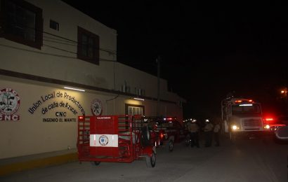 Conato de Incendio en Oficinas de la ULPCA CNC Mante