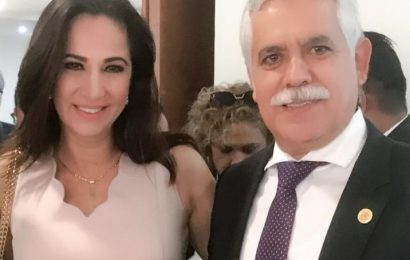 Alcaldesa Electa de Xicoténcatl y su Esposo; Asisten como Invitados Especiales a Informe del Gobernador