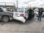 Empleado de la Coepris Causa Fuerte carambola en Matamoros