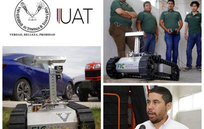 Desarrollan Estudiantes de la UAT Robot para Búsqueda en Casos de Desastres