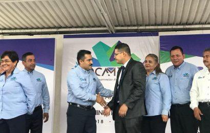Profesor Jesús Avalos Puente Toma Protesta como Alcalde de Ocampo y Pone en Marcha Importante Obra