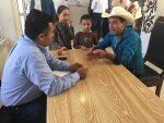 Alcalde de Ocampo Atiende Peticiones de Profesores Jubilados y Sociedad Civil
