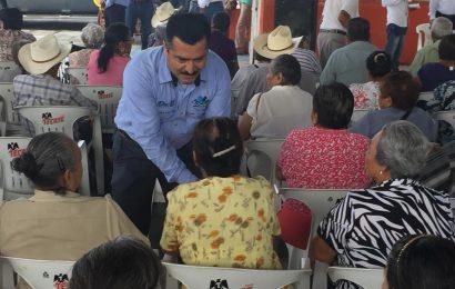 Alcalde Verifica Inicio del Pago de 65 y Más en Ocampo