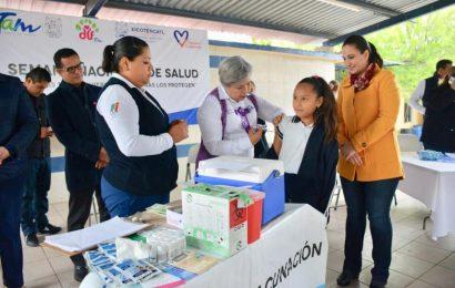 """Alcaldesa Pone en Marcha el Programa """"Mientras tú los quieres, las vacunas los protegen"""""""