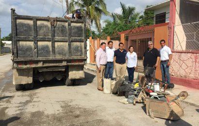 Realiza Gobierno Municipal y Jurisdicción Sanitaria 06 Descacharrización en la Altavista