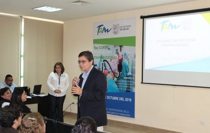 Imparten Curso de Medicina Transfusional a Especialistas de Bancos de Sangre