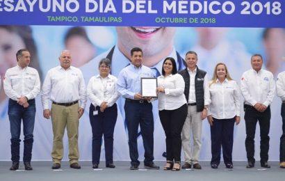 Respaldan Médicos del Sur de Tamaulipas la Política de Salud de Francisco García Cabeza de Vaca
