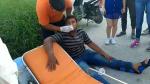 Estudiante Herido al Estrellar Moto Contra Camioneta