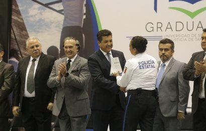 Preside Gobernador Graduación de Nuevos Elementos para Seguridad Pública