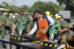 Destruyen en Tamaulipas Armas Decomisadas