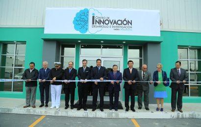 Inaugura Gobernador el Centro de Innovación de la Industria Maquiladora