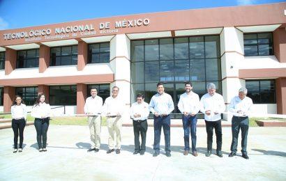 Invierten Federación y Gobierno de Tamaulipas recursos históricos para infraestructura educativa