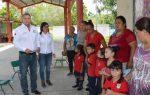 Gobierno de El Mante Entrega Sanitarios en Jardín de Niños