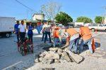 Alcadesa Pone en Marcha Labores de Bacheo en la Zona Urbana de Xicoténcatl