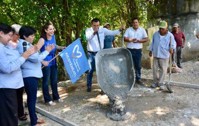 Comienza Construcción de Aulas en Telebachillerato del ejido Xicoténcatl