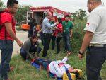Microbusero Causó Choque y Lesiona a Joven en Matamoros