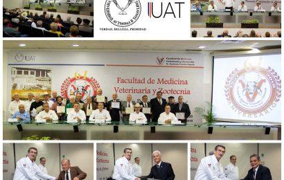 Reconocen UAT y Exa-Vet a Veterinarios Destacados