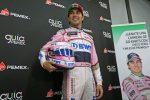 Piloto Sergio Pérez Renueva con Escudería Force India