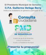 Invita Gobierno Municipal a Ciudadania para Que Participen en el Plan Municipal de Desarrollo