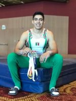 Deportista Tamaulipeco Logra 3 Medallas en Festival Centroamericano de Gimnasia