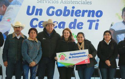 Llega Programa Un Gobierno Cerca de Ti a Familias de Aldama