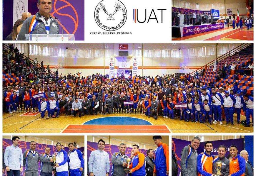 Inauguran los Juegos Estatales de la UAT 2018