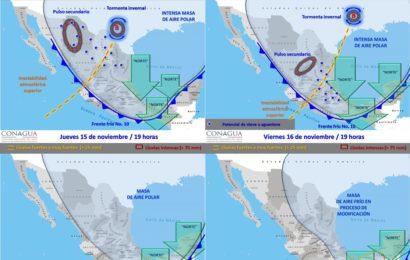 Bajas Temperaturas Desde Hoy y Hasta el Jueves Anuncia el SMN