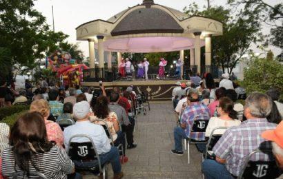 Vuelven los «Domingos de Oro» a la Plaza Principal de El Mante