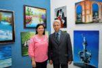 Inauguran exposición «Nuevos retos»*Obra del maestro Florián López Guerrero