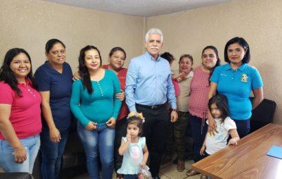Directoras de Estancias Infantiles de Mante Piden Apoyo a Diputado Vicente Verastegui ante  Recorte Presupuestal de la Federación