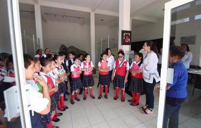 Museo de Xicoténcatl Recibe Visita de Alumnos de Escuela Primaria