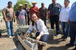 Alcaldesa Inicia Construcción de Kiosco Comunitario