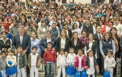 Somos un gobierno protector de la infancia y de las familias tamaulipecas: Mariana Gómez