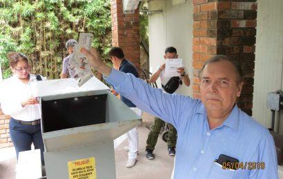 Realizan destrucción de Credenciales en Tamaulipas